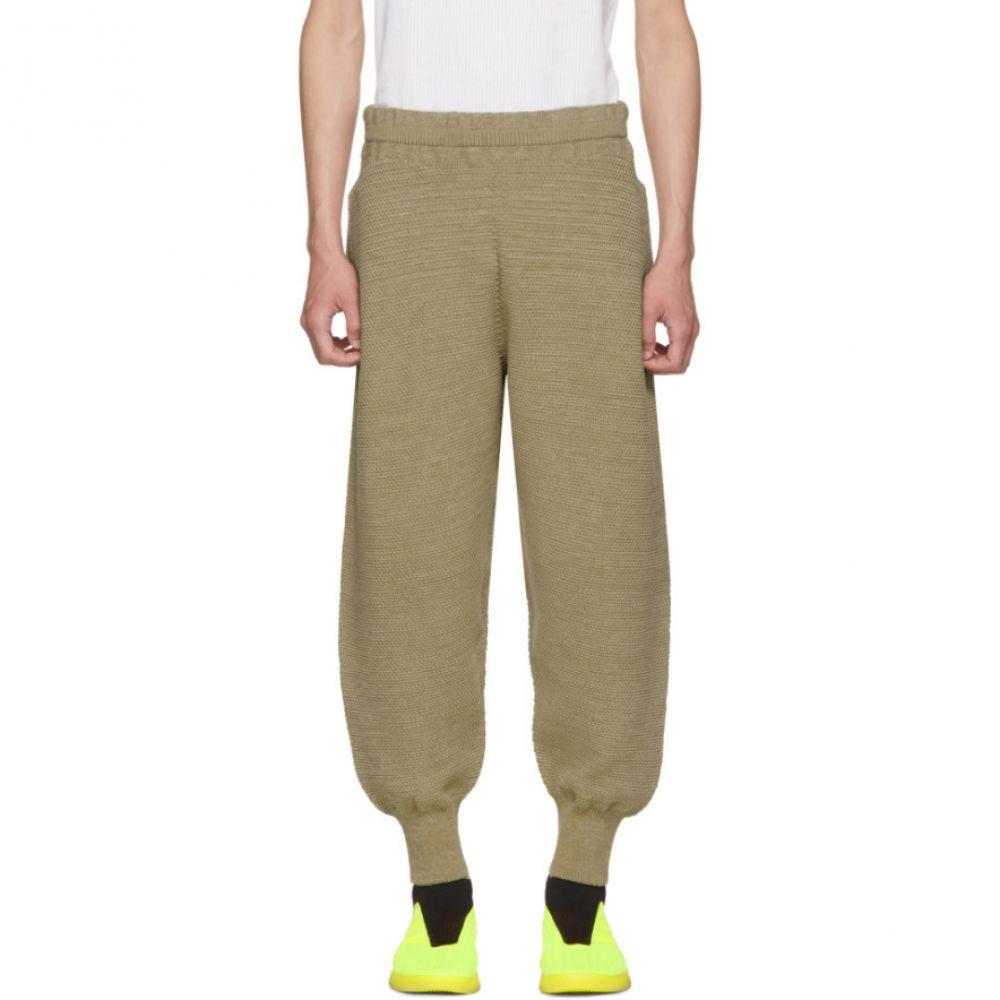 イッセイ ミヤケ メンズ ボトムス・パンツ【Beige WG Knit Trousers】