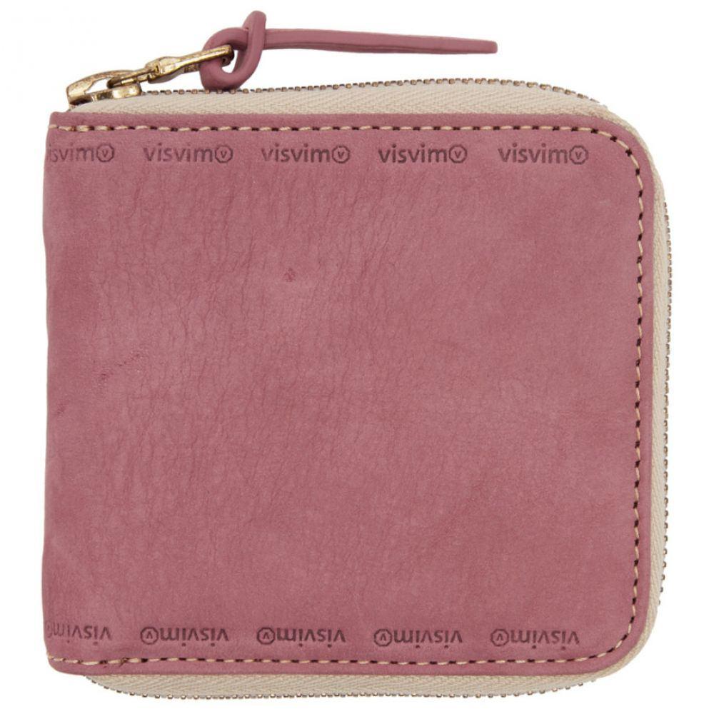 ビズビム メンズ 財布【Pink Veggie Bifold Wallet】