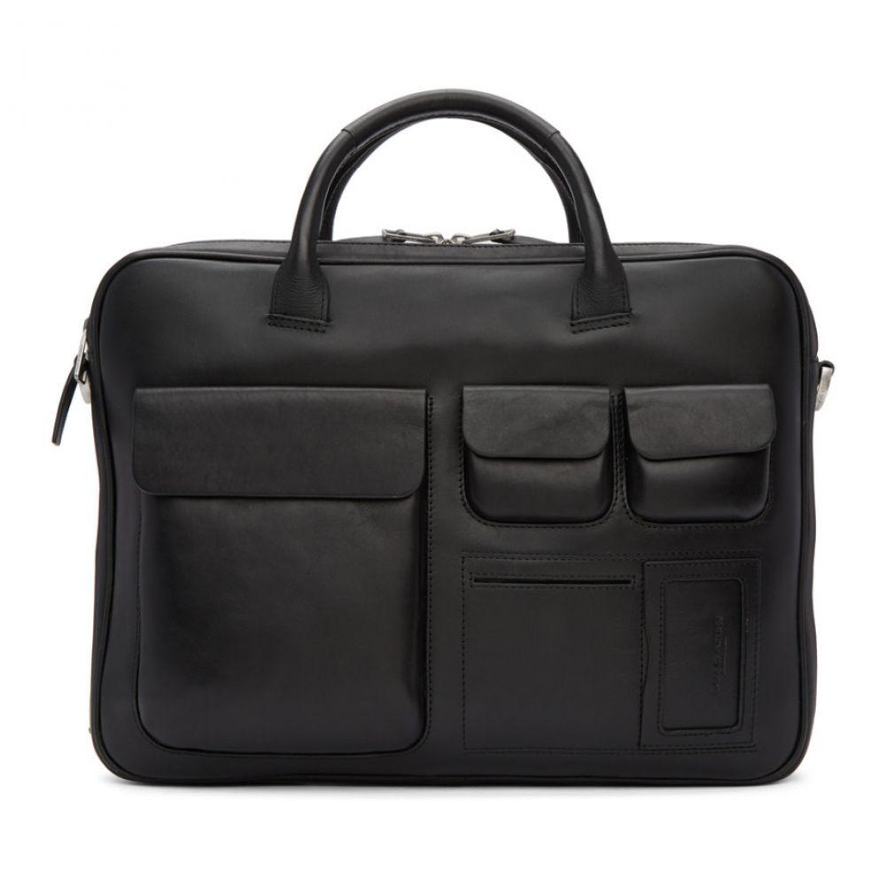 タイガー オブ スウェーデン メンズ バッグ ビジネスバッグ・ブリーフケース【Black Accordant Briefcase】
