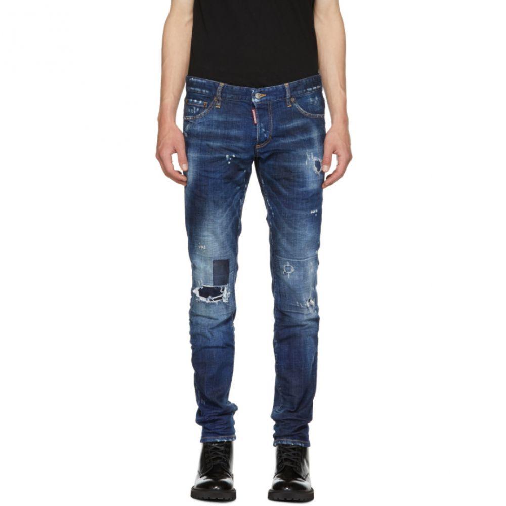 ディースクエアード メンズ ボトムス・パンツ ジーンズ・デニム【Blue Toppa Slim Jeans】
