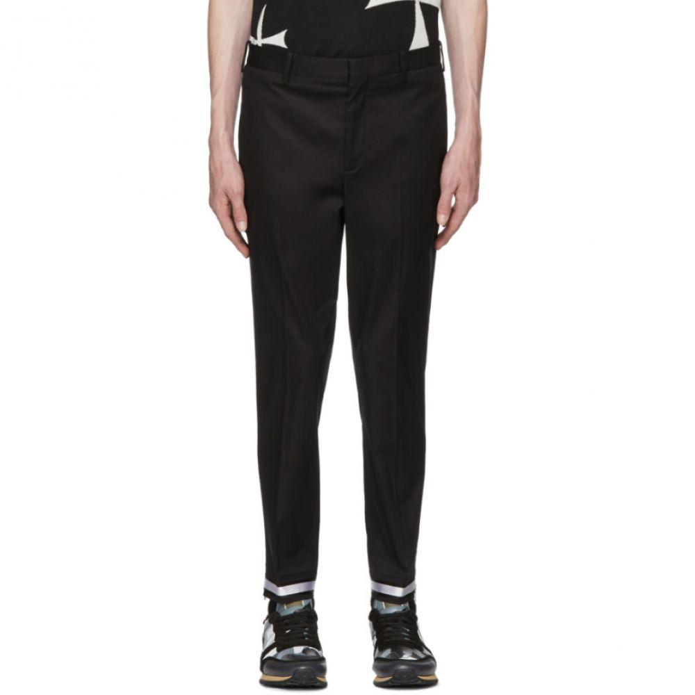 ニール バレット メンズ ボトムス・パンツ【Black Reflective Cuff Trousers】