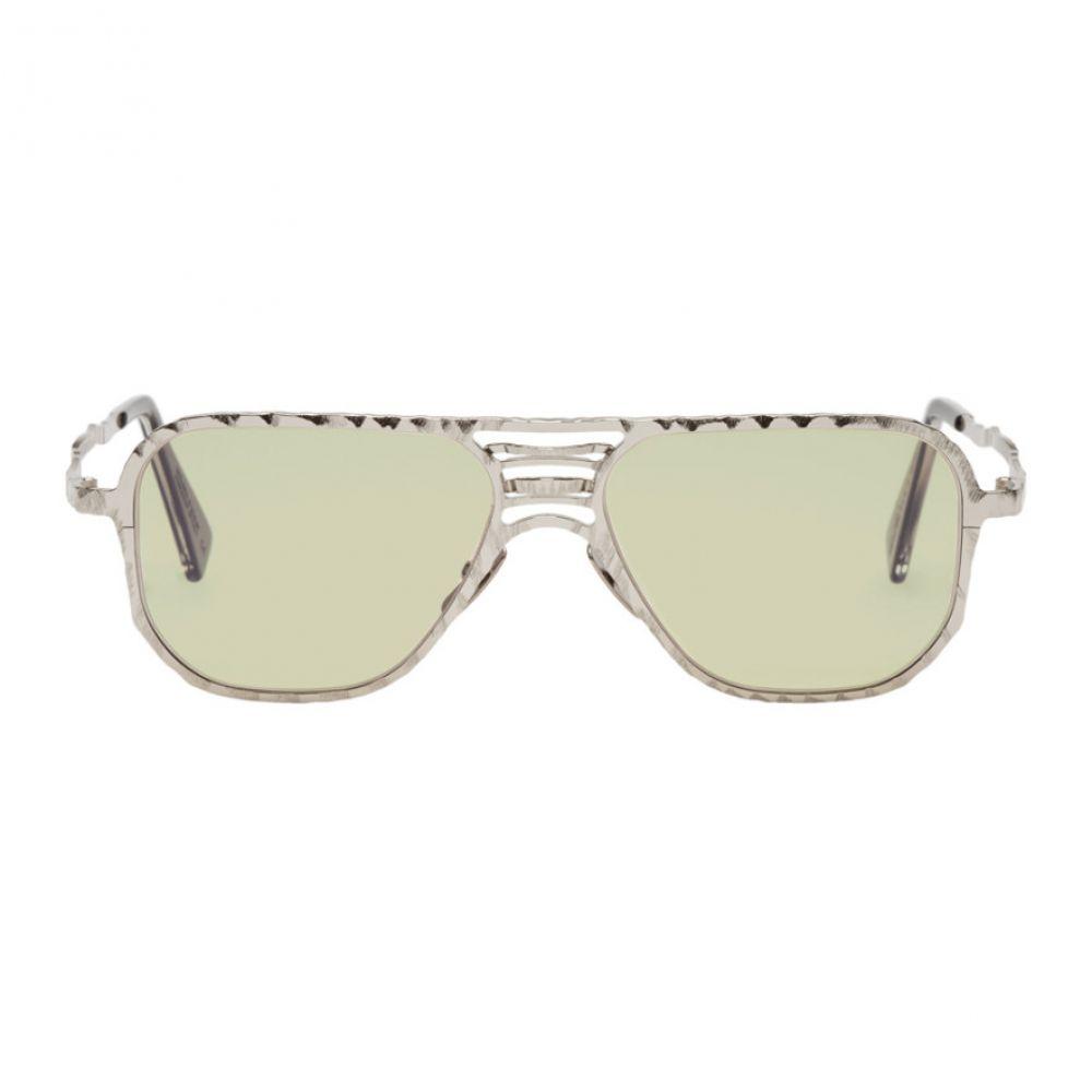 クボラム メンズ メガネ・サングラス【Silver H54 SI Sunglasses】