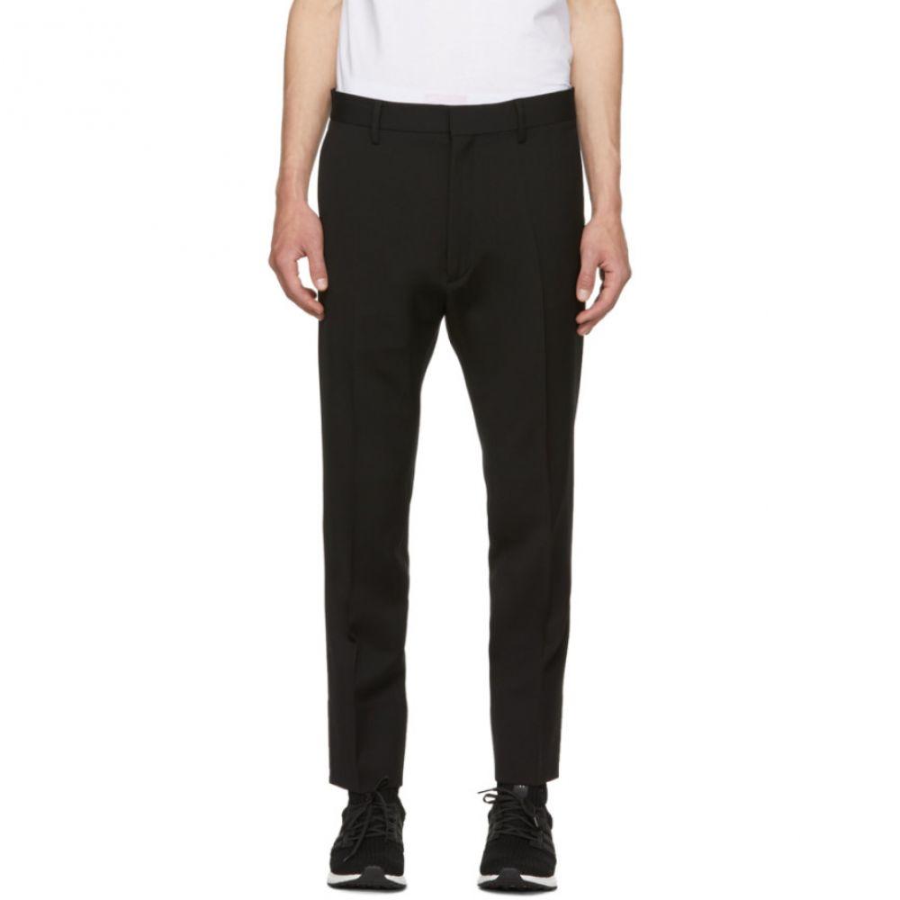ディースクエアード メンズ ボトムス・パンツ【Black Wool Run Dan Fit Trousers】