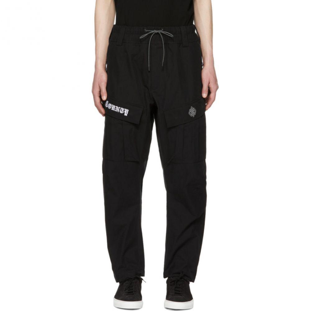 マルセロバーロン メンズ ボトムス・パンツ カーゴパンツ【Black & White Cargo Pants】