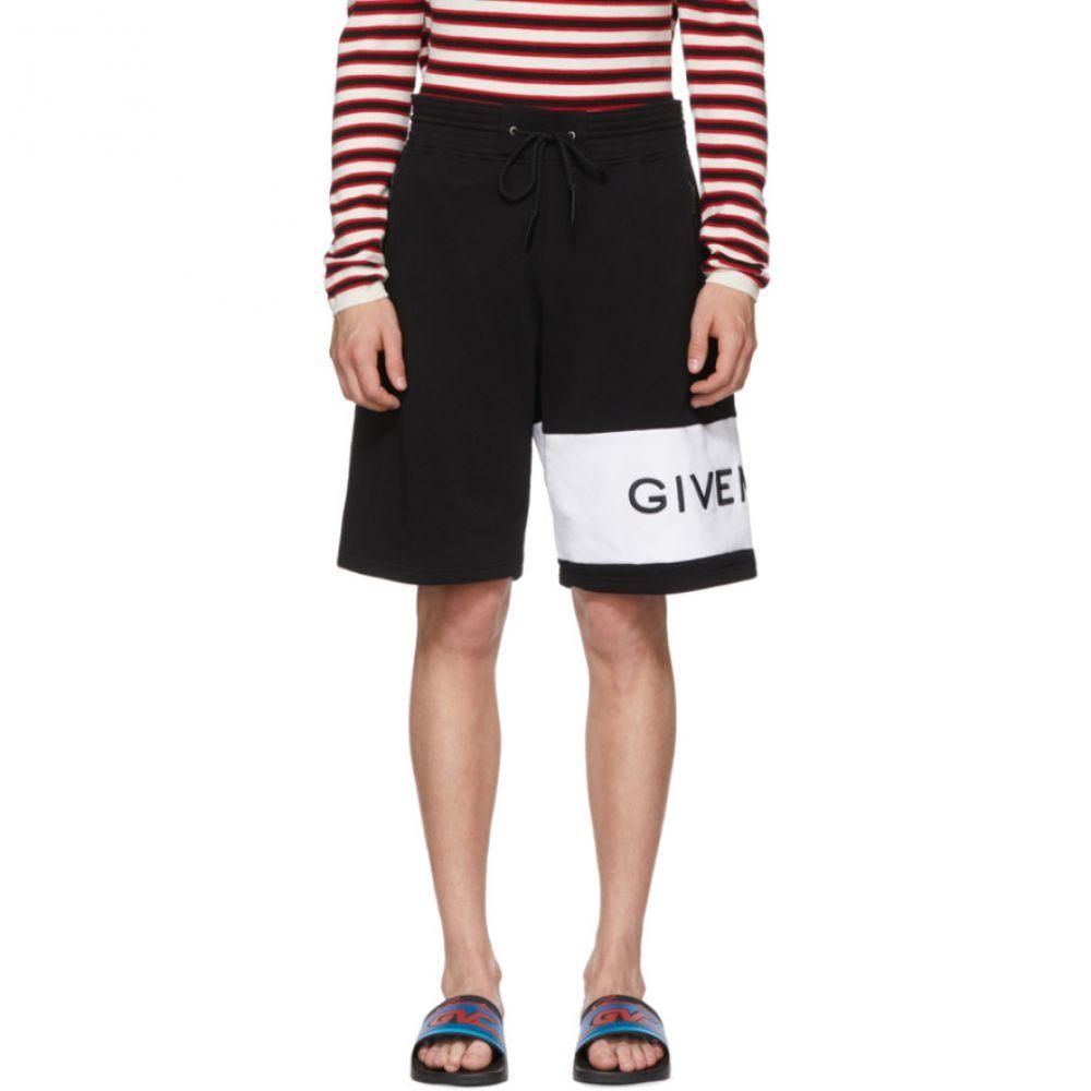 ジバンシー メンズ ボトムス・パンツ ショートパンツ【Black & White 4G Bermuda Shorts】