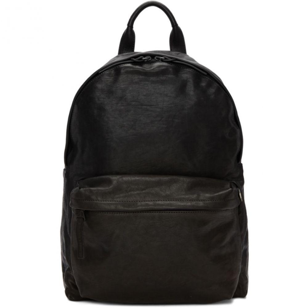 オフィチーネ メンズ バッグ バックパック・リュック【Black Novak Backpack】