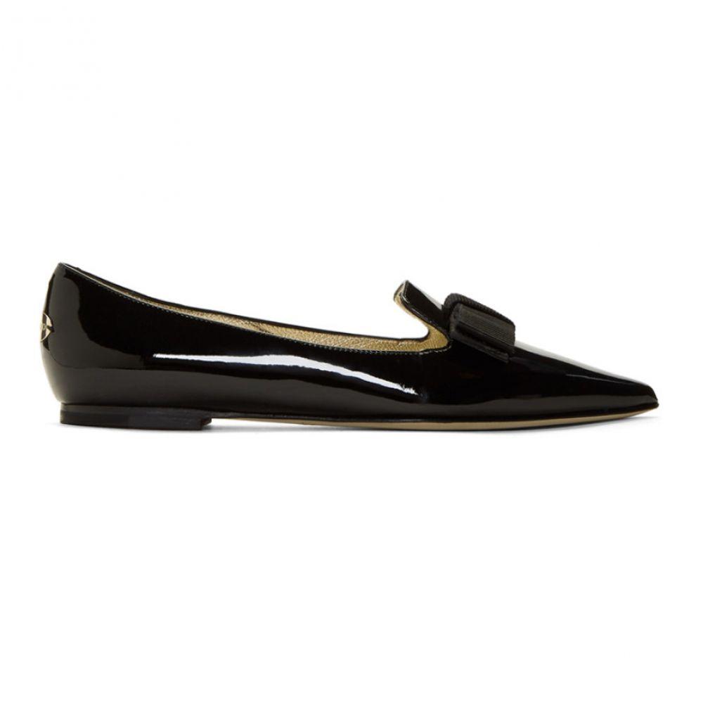 ジミー チュウ レディース シューズ・靴 スリッポン・フラット【Black Patent Gala Flats】