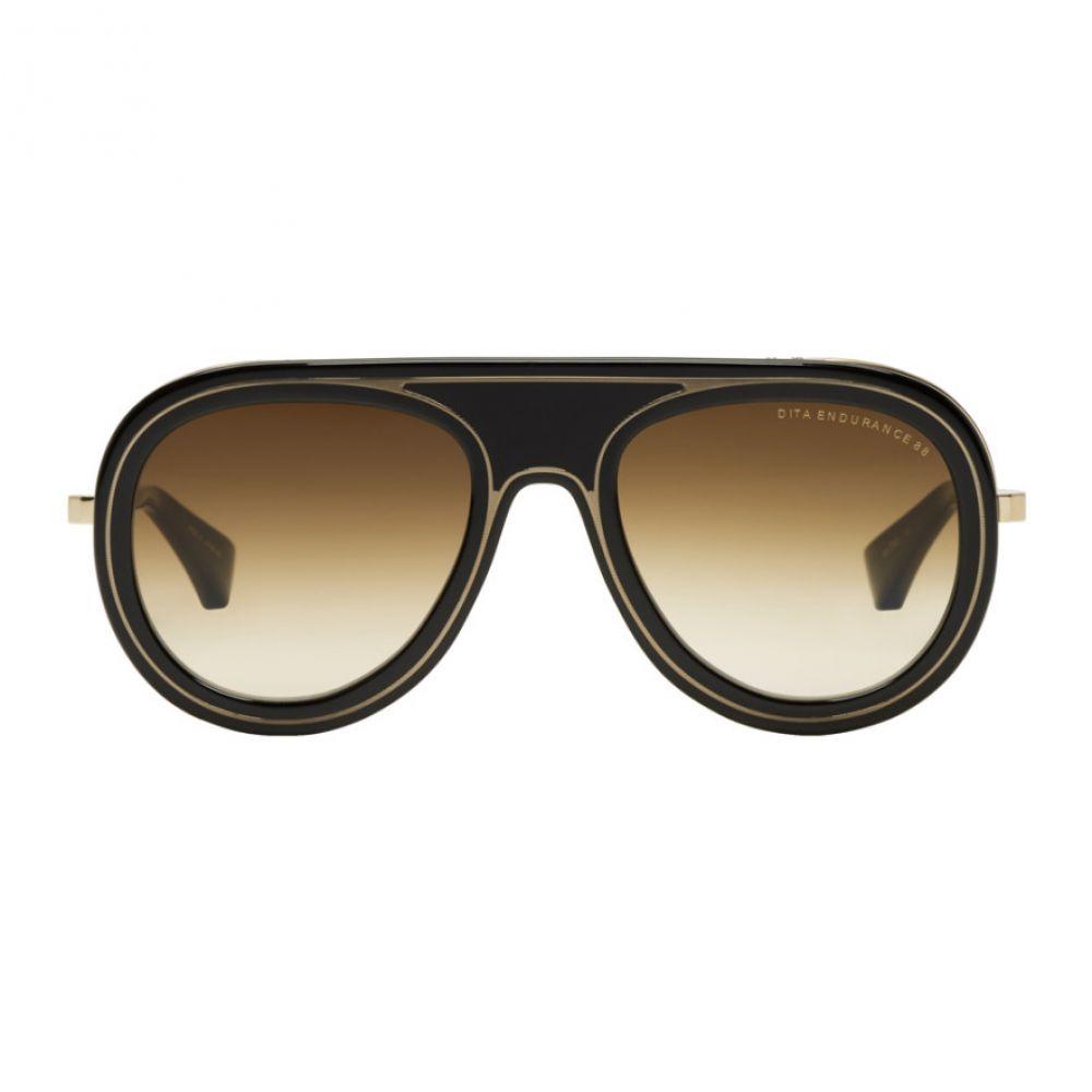 ディータ メンズ メガネ・サングラス【Black & Gold Endurance 88 Sunglasses】