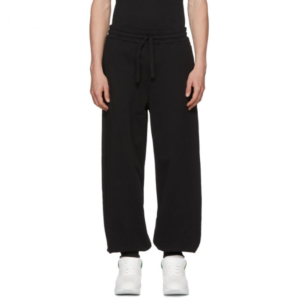 アレキサンダー マックイーン メンズ ボトムス・パンツ スウェット・ジャージ【Black Organic Brushed Back Lounge Pants】