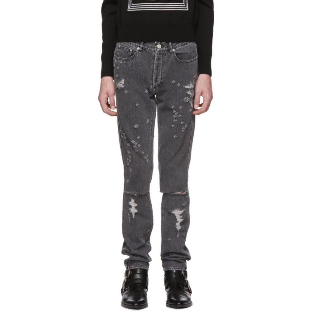 ジバンシー メンズ ボトムス・パンツ ジーンズ・デニム【Grey Destroyed Slim-Fit Jeans】