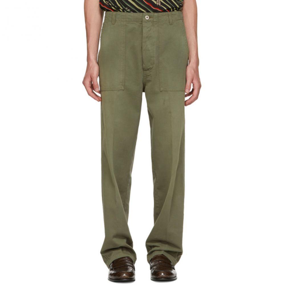 ロエベ メンズ ボトムス・パンツ【Green Patch Pocket Trousers】