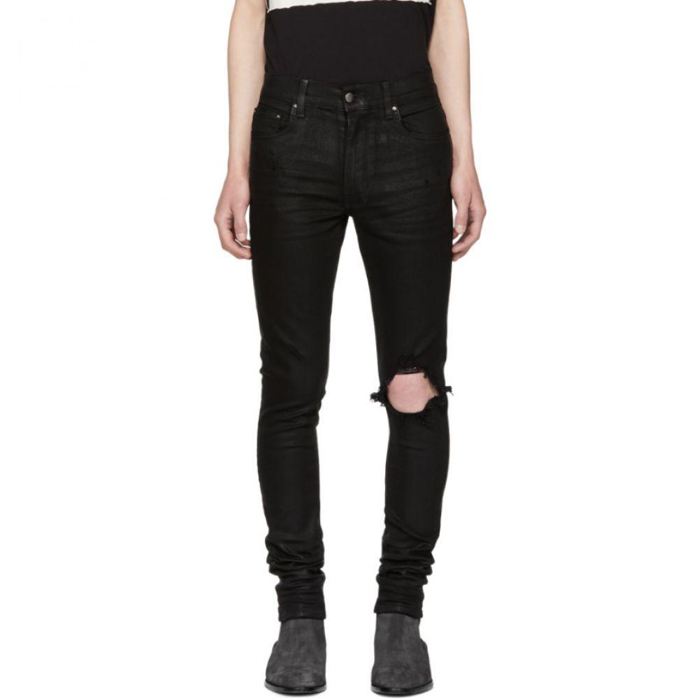 アミリ メンズ ボトムス・パンツ ジーンズ・デニム【Black Wax Broken Jeans】