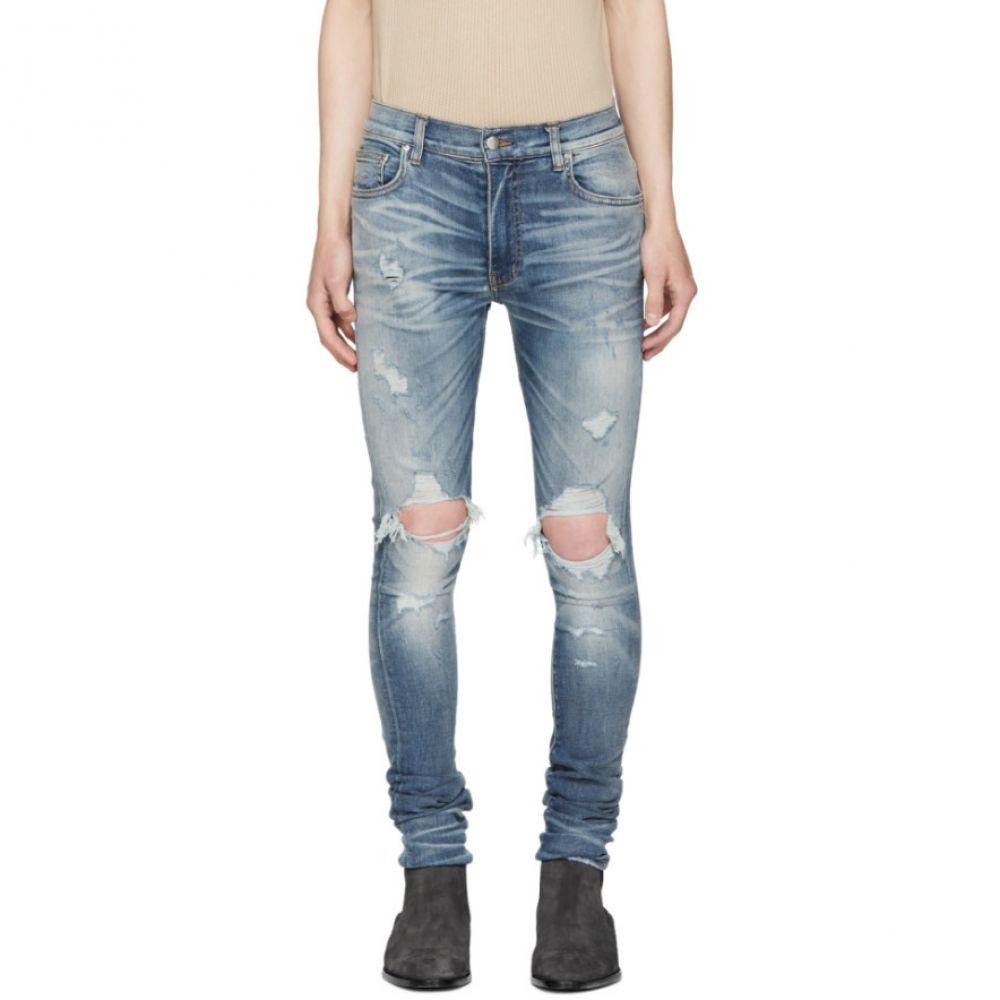 アミリ メンズ ボトムス・パンツ ジーンズ・デニム【Indigo Thrasher Jeans】