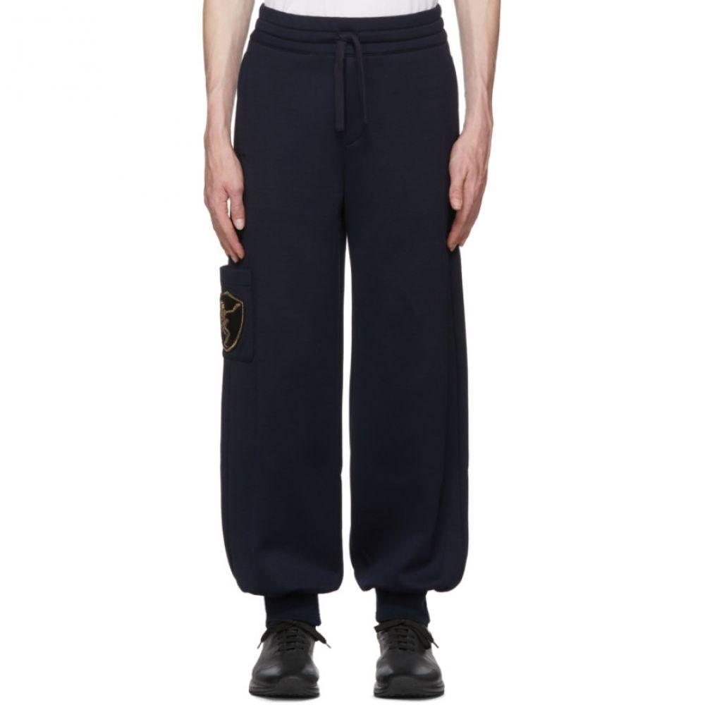 アレキサンダー マックイーン メンズ ボトムス・パンツ ジョガーパンツ【Navy Side Patch Jogger Lounge Pants】