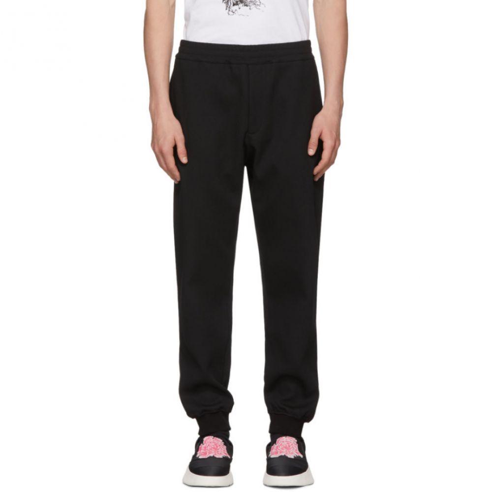アレキサンダー マックイーン メンズ ボトムス・パンツ ジョガーパンツ【Black Sport Jogger Lounge Pants】