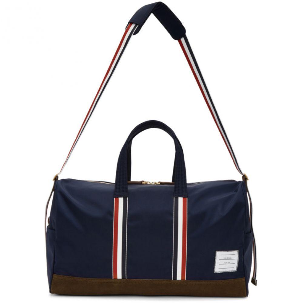 トム ブラウン メンズ バッグ ボストンバッグ・ダッフルバッグ【Navy Unstructured Holdall Duffle Bag】