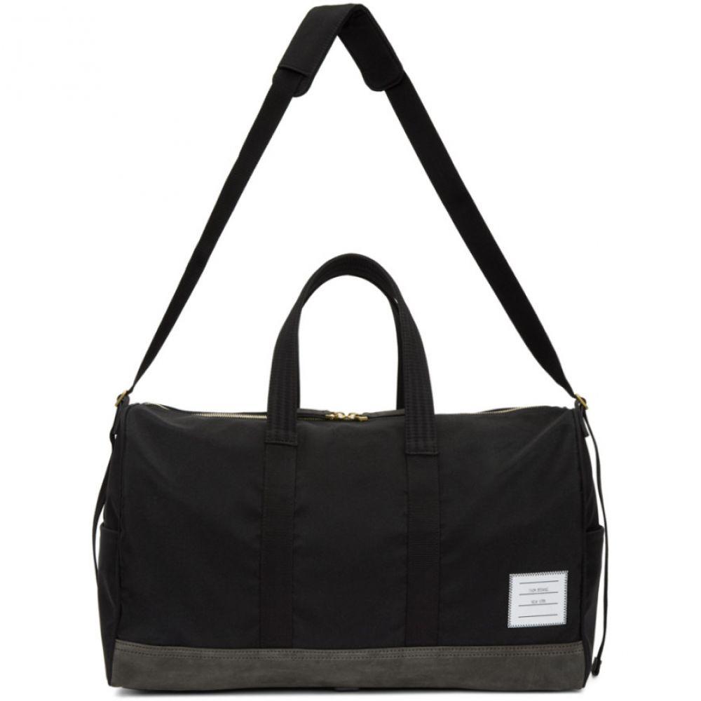 トム ブラウン メンズ バッグ ボストンバッグ・ダッフルバッグ【Black & Grey Unstructured Hold All Bag】
