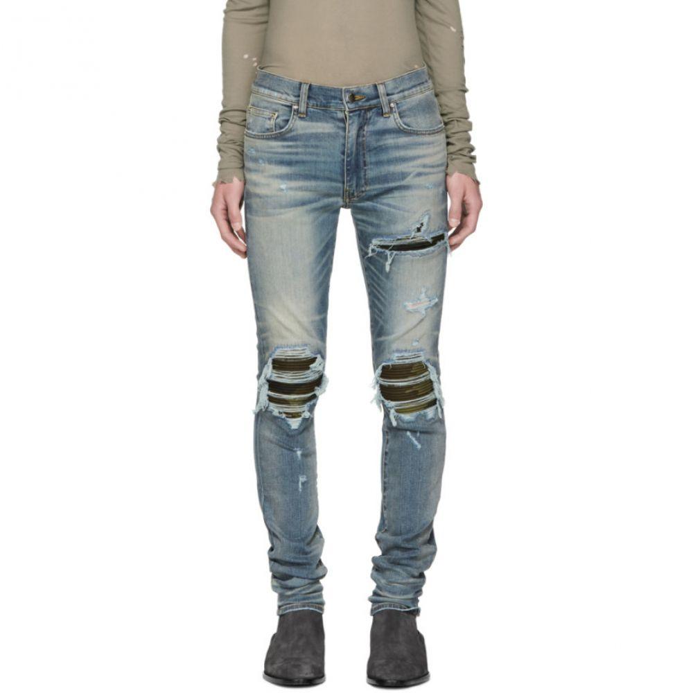 アミリ メンズ ボトムス・パンツ ジーンズ・デニム【Indigo MX1 Camo Jeans】