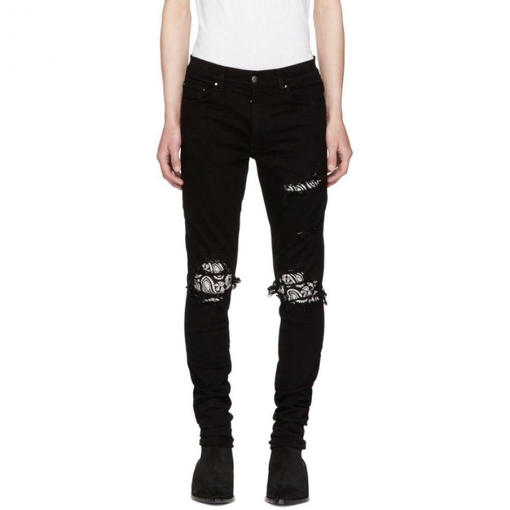 アミリ ボトムス・パンツ Jeans】 Crystal ジーンズ・デニム【Black Bandana メンズ