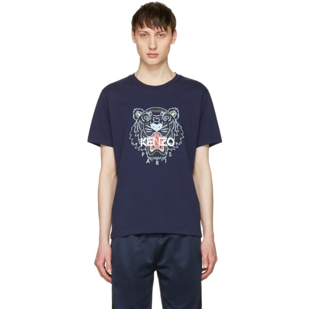 ケンゾー メンズ トップス Tシャツ【Navy Limited Edition Tiger T-Shirt】