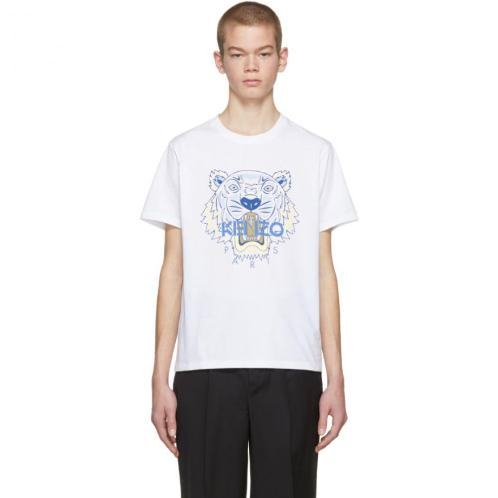 ケンゾー メンズ トップス Tシャツ【White Tiger T-Shirt】