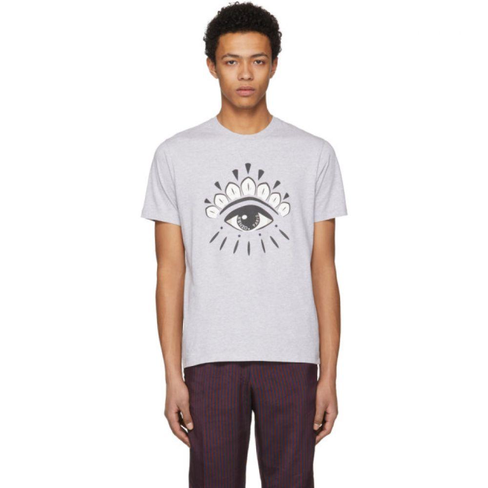 ケンゾー メンズ トップス Tシャツ【Grey Eye Logo T-Shirt】