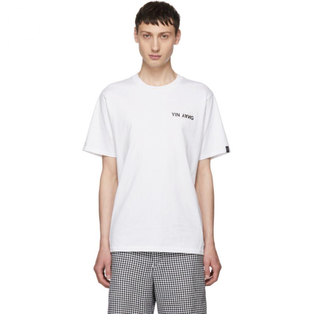 ラグ&ボーン メンズ トップス Tシャツ【White 'Yin Yang' T-Shirt】