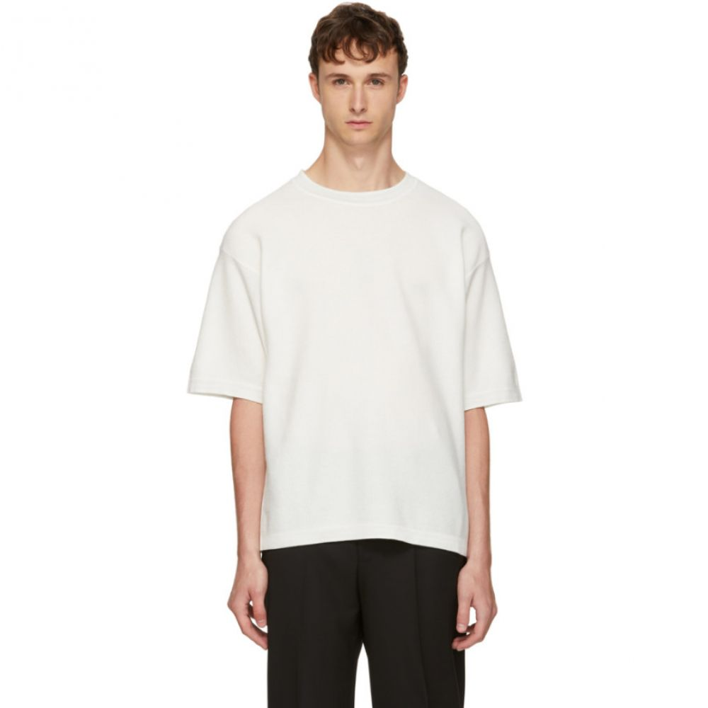 ヒューゴ ボス メンズ トップス Tシャツ【White Soltor T-Shirt】