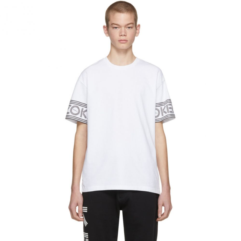 ケンゾー メンズ トップス Tシャツ【White Logo Sport T-Shirt】