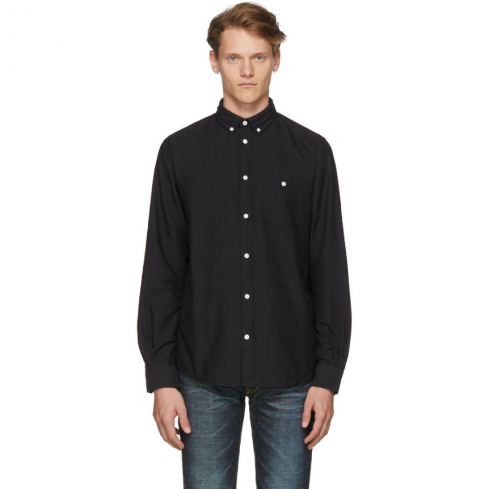 ノースプロジェクト メンズ トップス シャツ【Black Anton Oxford Shirt】