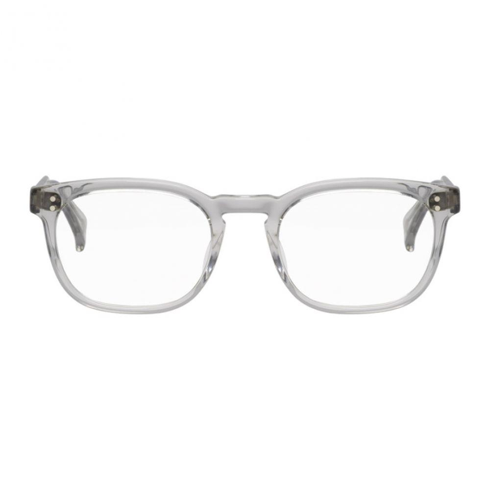 レーン メンズ メガネ・サングラス【Grey Transparent Eagan Glasses】