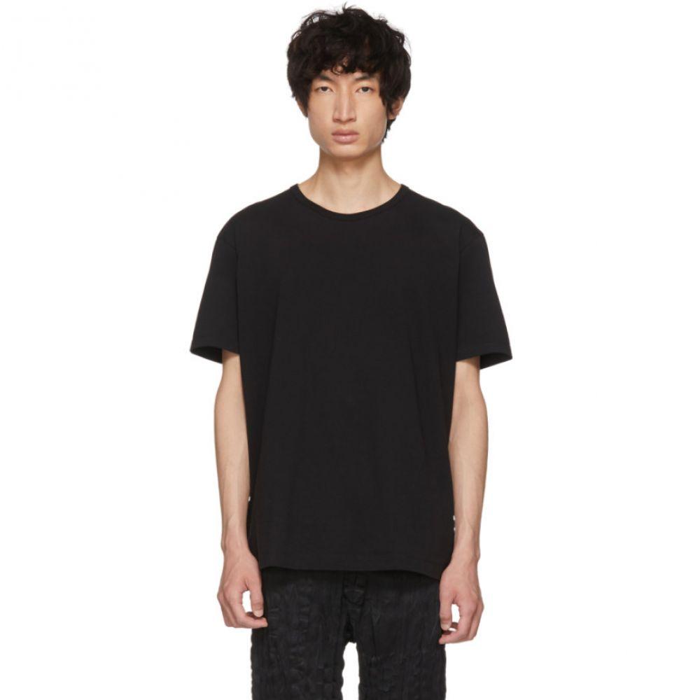 イッセイ ミヤケ メンズ トップス Tシャツ【Black Bio T-Shirt】