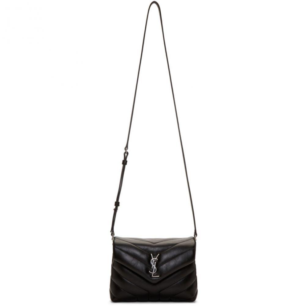 イヴ サンローラン レディース バッグ ショルダーバッグ【Black Toy Loulou Strap Bag】