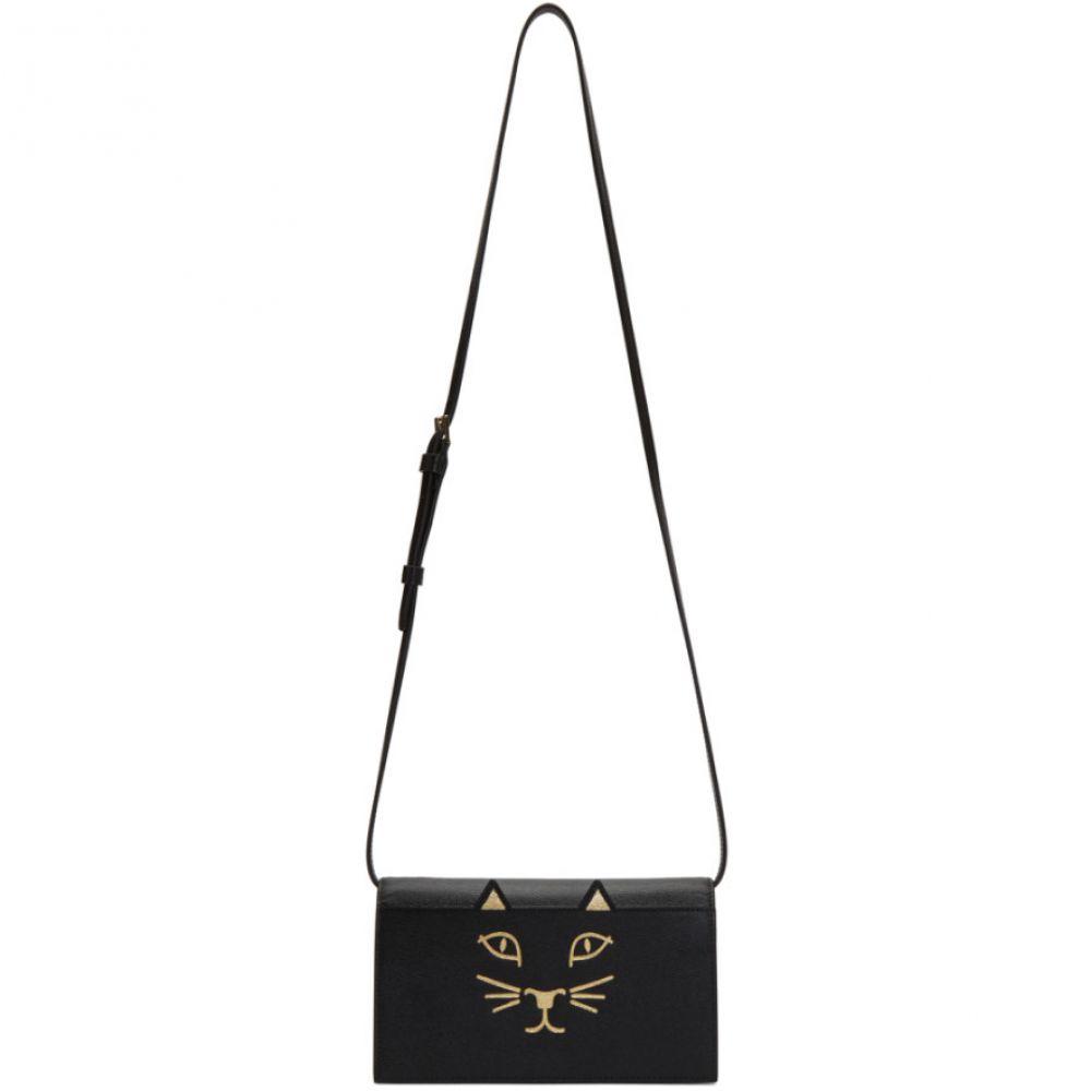シャーロット オリンピア レディース バッグ ショルダーバッグ【Black Feline Shoulder Bag】