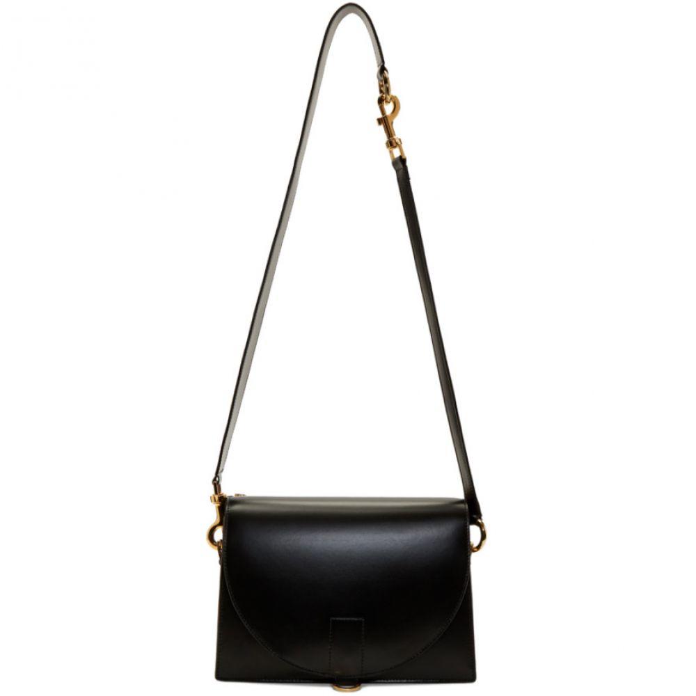 サカイ レディース バッグ ハンドバッグ【Black Hybrid Satchel Shoulder Bag】