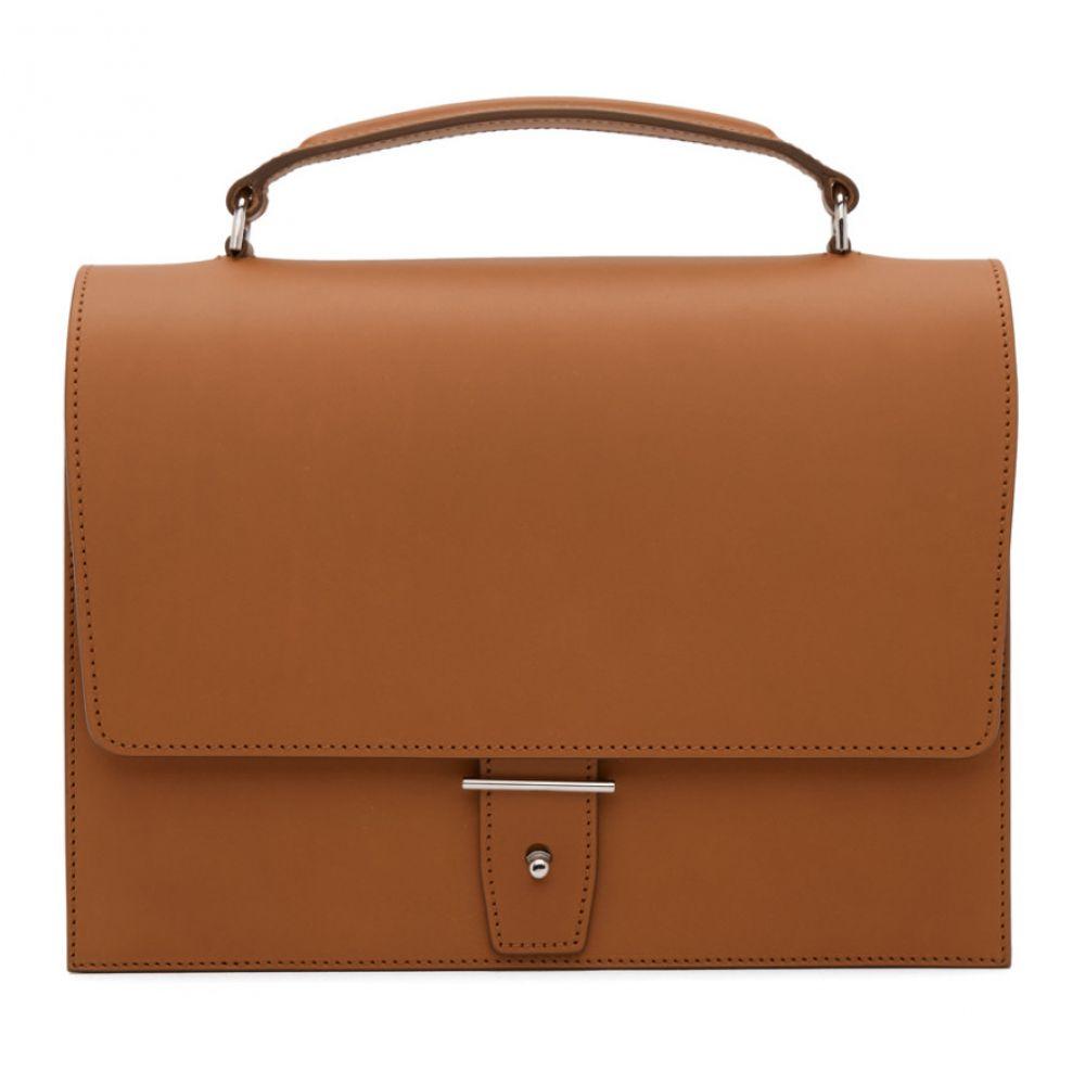 Pb 0110 レディース バッグ ハンドバッグ【Brown Top Handle Bag】