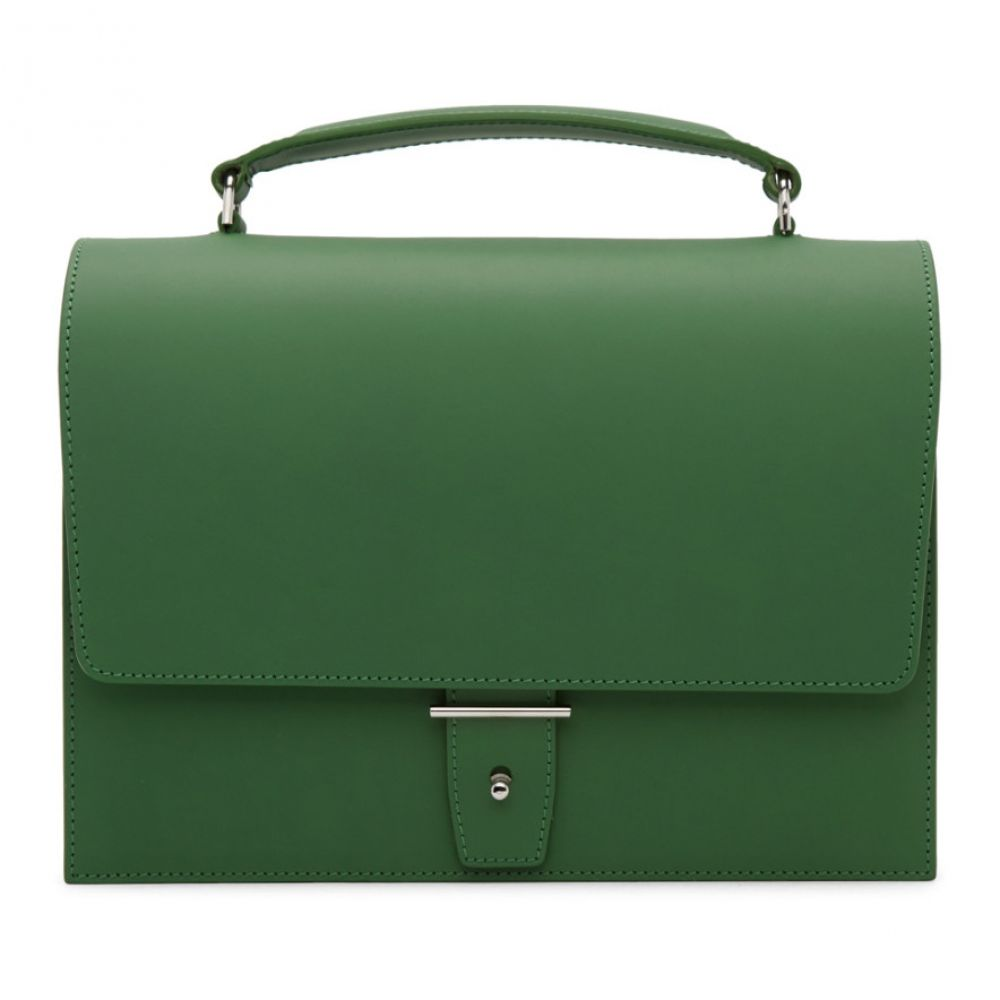 Pb 0110 レディース バッグ ハンドバッグ【Green Top Handle Bag】