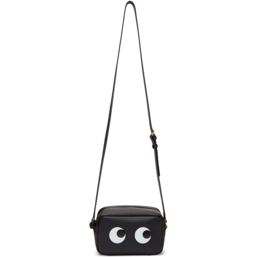 アニヤ ハインドマーチ レディース バッグ ショルダーバッグ【Black Mini Eyes Crossbody Bag】