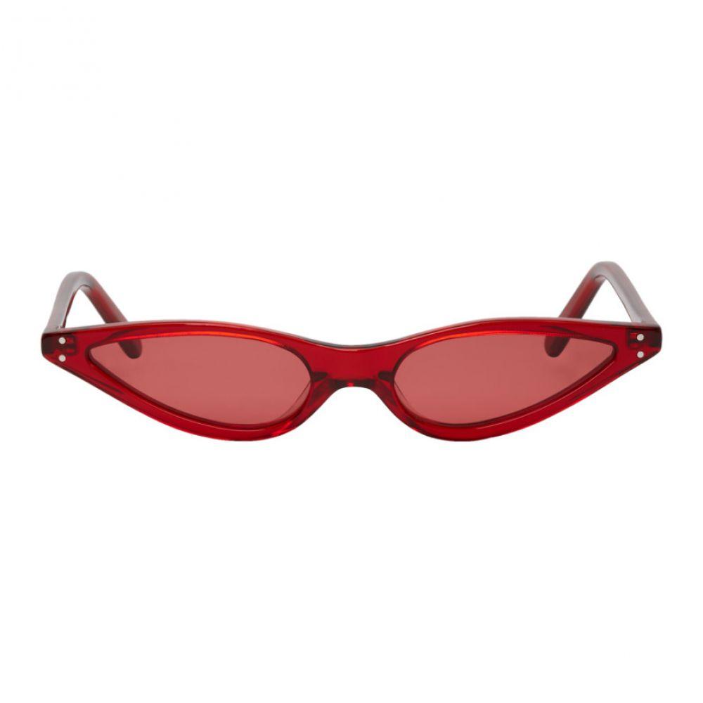 ゲオルゲ ケブリア レディース メガネ・サングラス【Red Micro Cat-Eye Sunglasses】