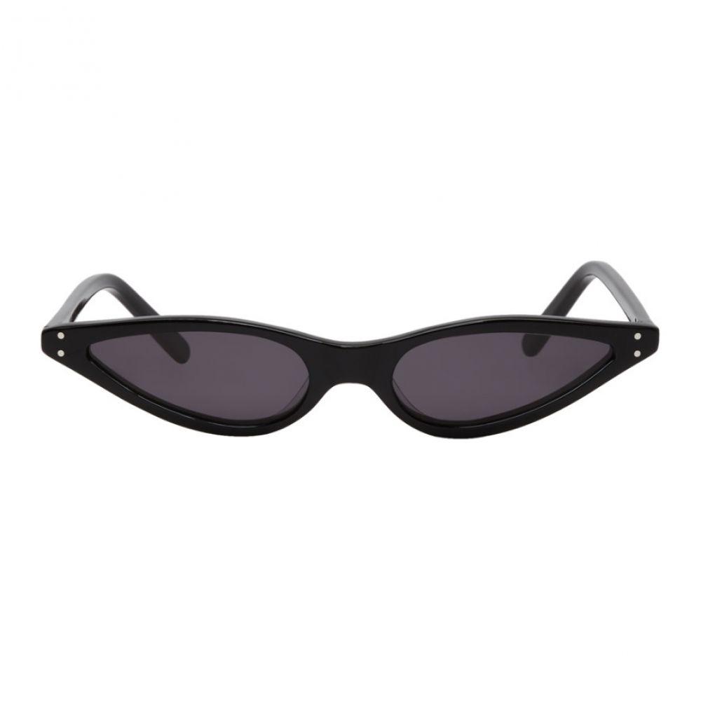 ゲオルゲ ケブリア レディース メガネ・サングラス【Black Micro Cat-Eye Sunglasses】