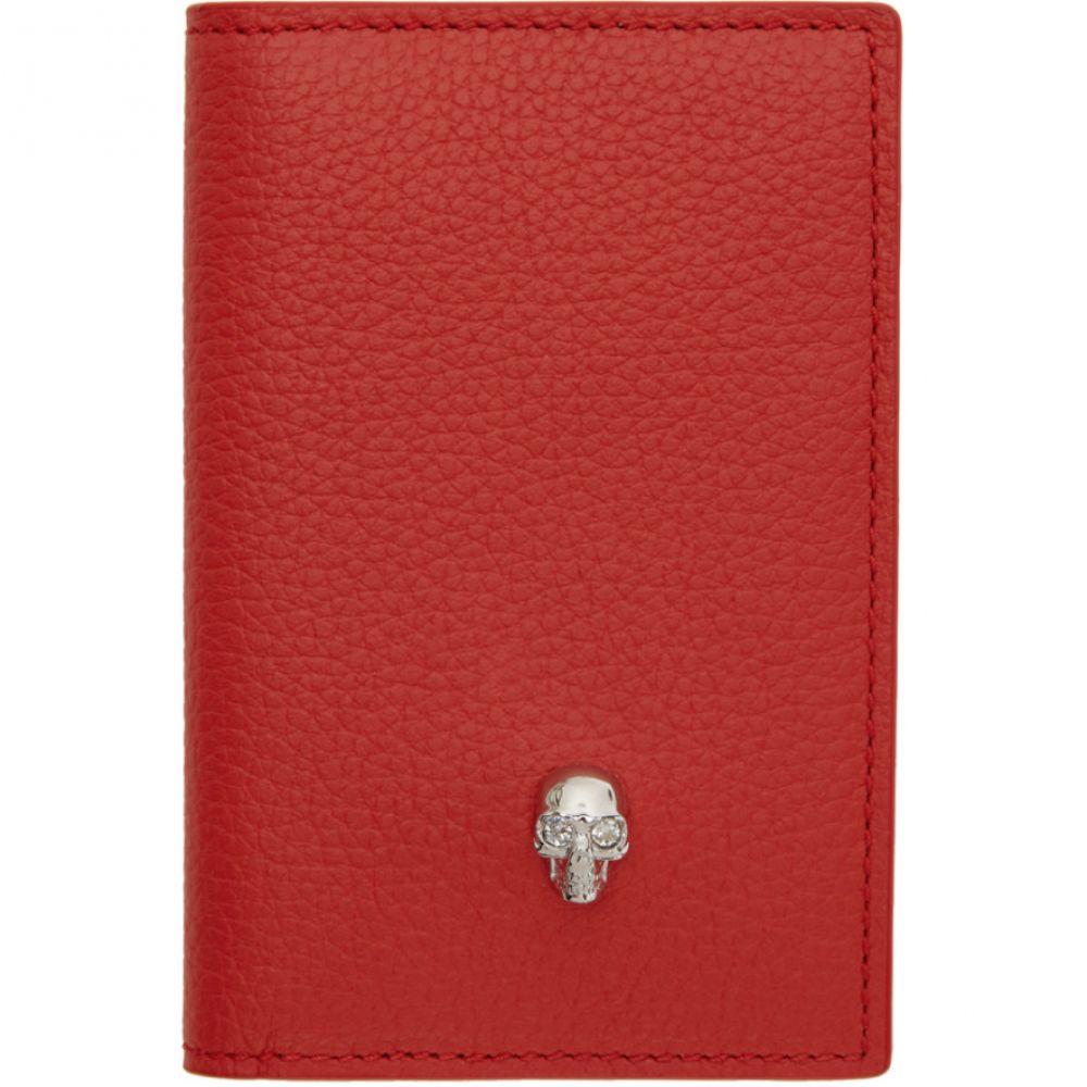 アレキサンダー マックイーン レディース カードケース・名刺入れ【Red Skull Pocket Organizer】