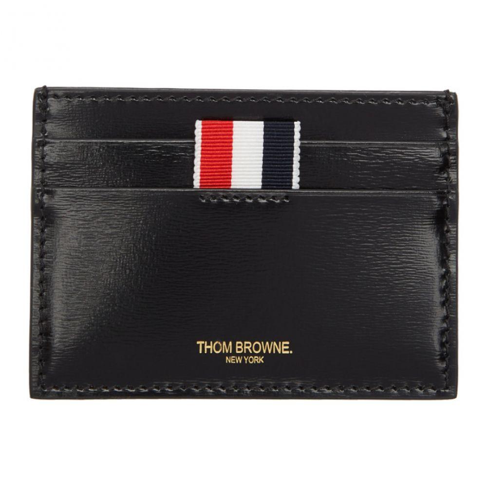 トム ブラウン レディース カードケース・名刺入れ【Black Double Sided Card Holder】