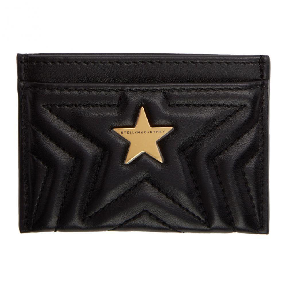 ステラ マッカートニー レディース カードケース・名刺入れ【Black Alter-Nappa Star Card Holder】