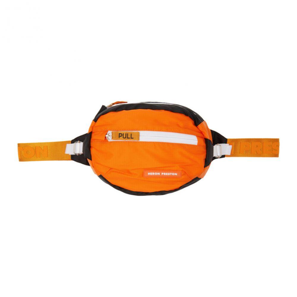 ヘロン プレストン レディース バッグ ボディバッグ・ウエストポーチ【Orange Padded Fanny Pack】