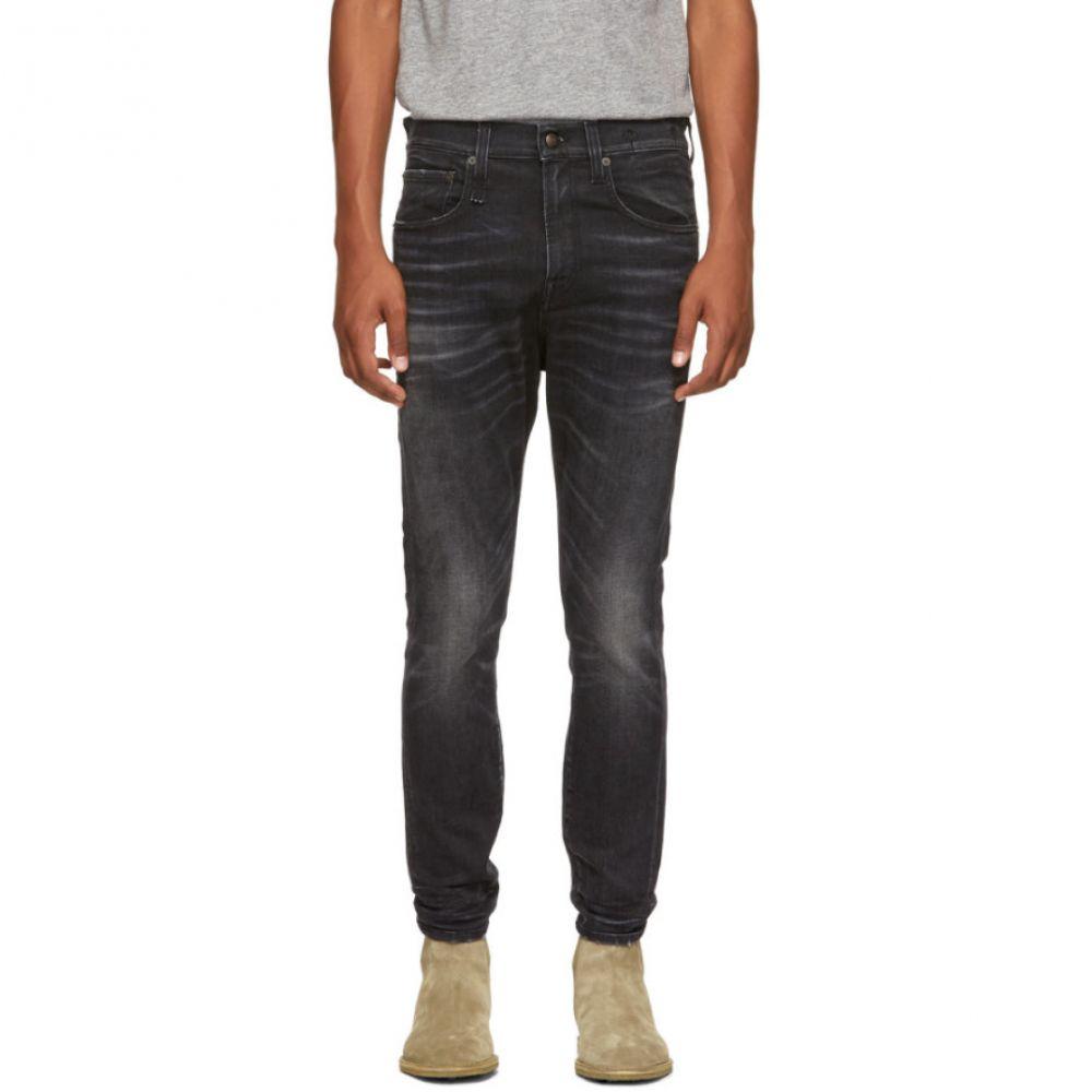 アール サーティーン メンズ ボトムス・パンツ ジーンズ・デニム【Black Washed Jeans】