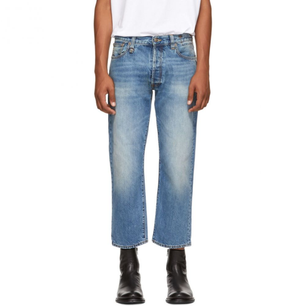アール サーティーン メンズ ボトムス・パンツ ジーンズ・デニム【Blue Hayden Washed Jeans】
