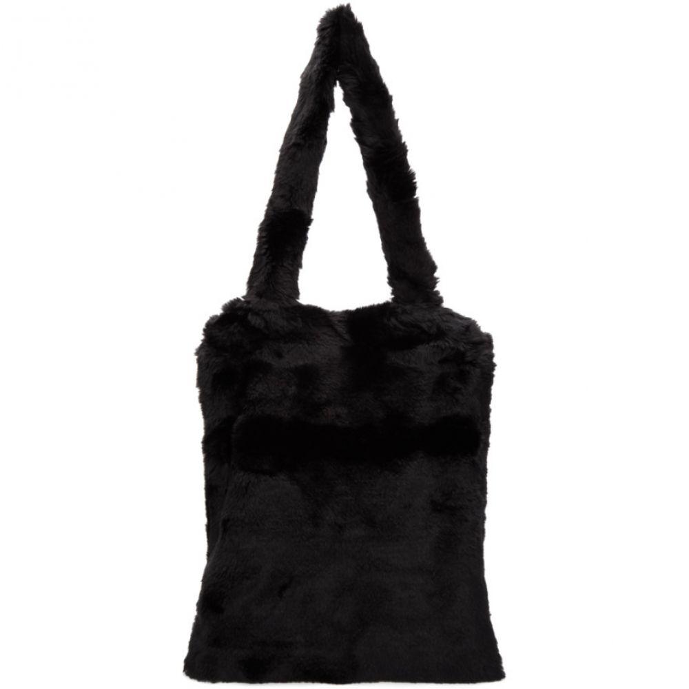 サルバム メンズ バッグ トートバッグ【Black Fur Tote】