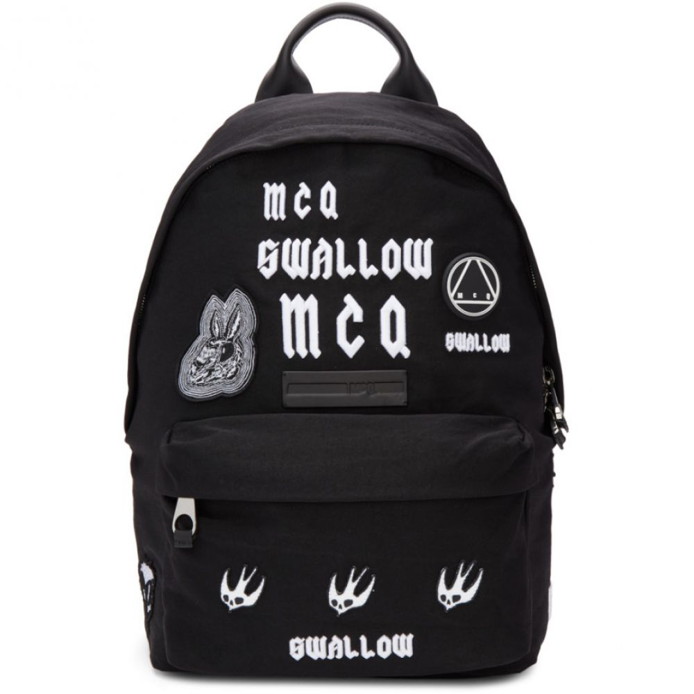 50%OFF アレキサンダー マックイーン メンズ 'Swallow' バッグ バックパック・リュック【Black 'Swallow' バッグ Classic アレキサンダー Backpack】, 文政五年創業九谷焼窯元 鏑木商舗:bbf5d909 --- mail.abenterprise.net.in