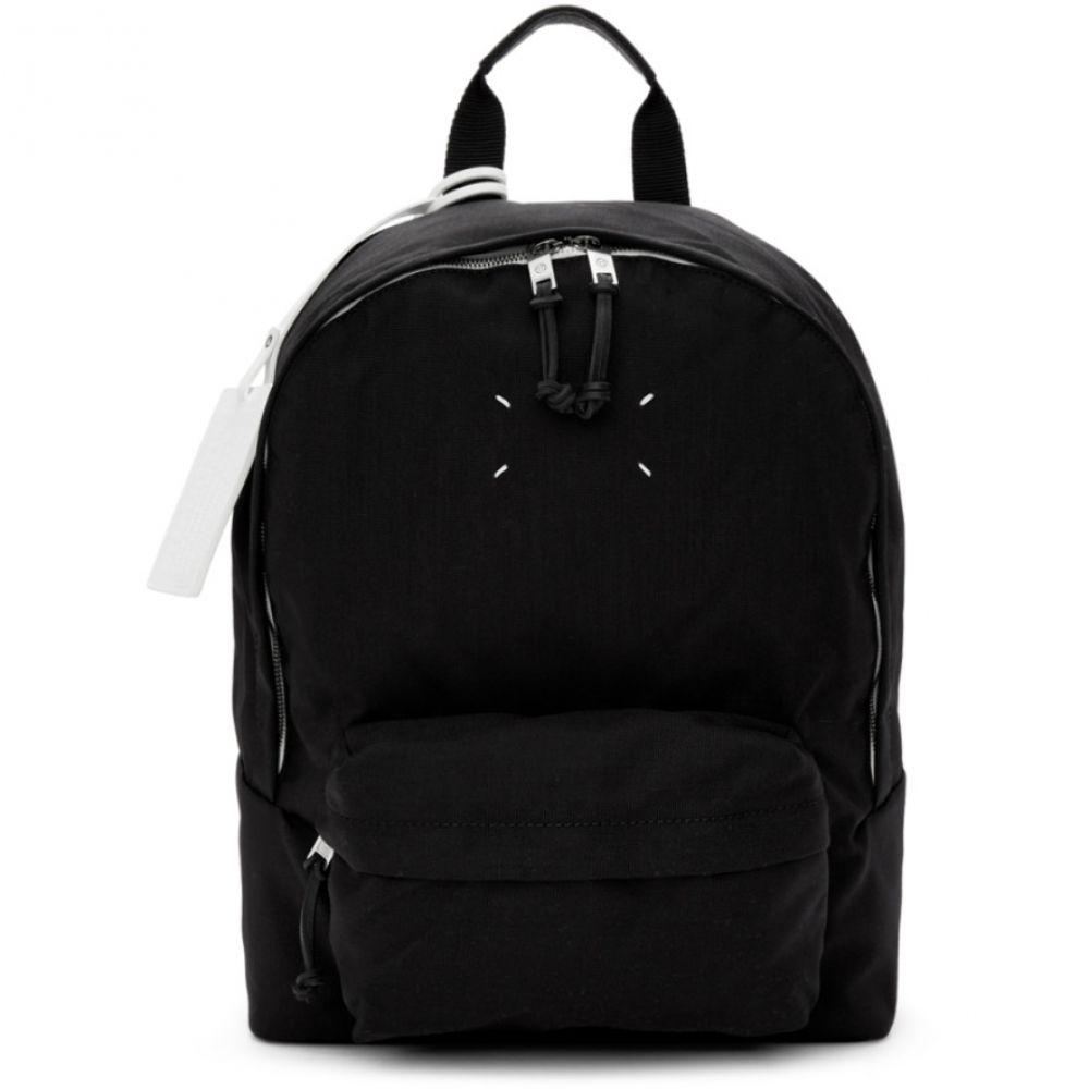 激安店舗 メゾン マルジェラ メンズ メンズ バッグ バックパック・リュック Canvas メゾン【Black Nylon Canvas Backpack】, カメラのナニワ:a632428f --- mail.abenterprise.net.in