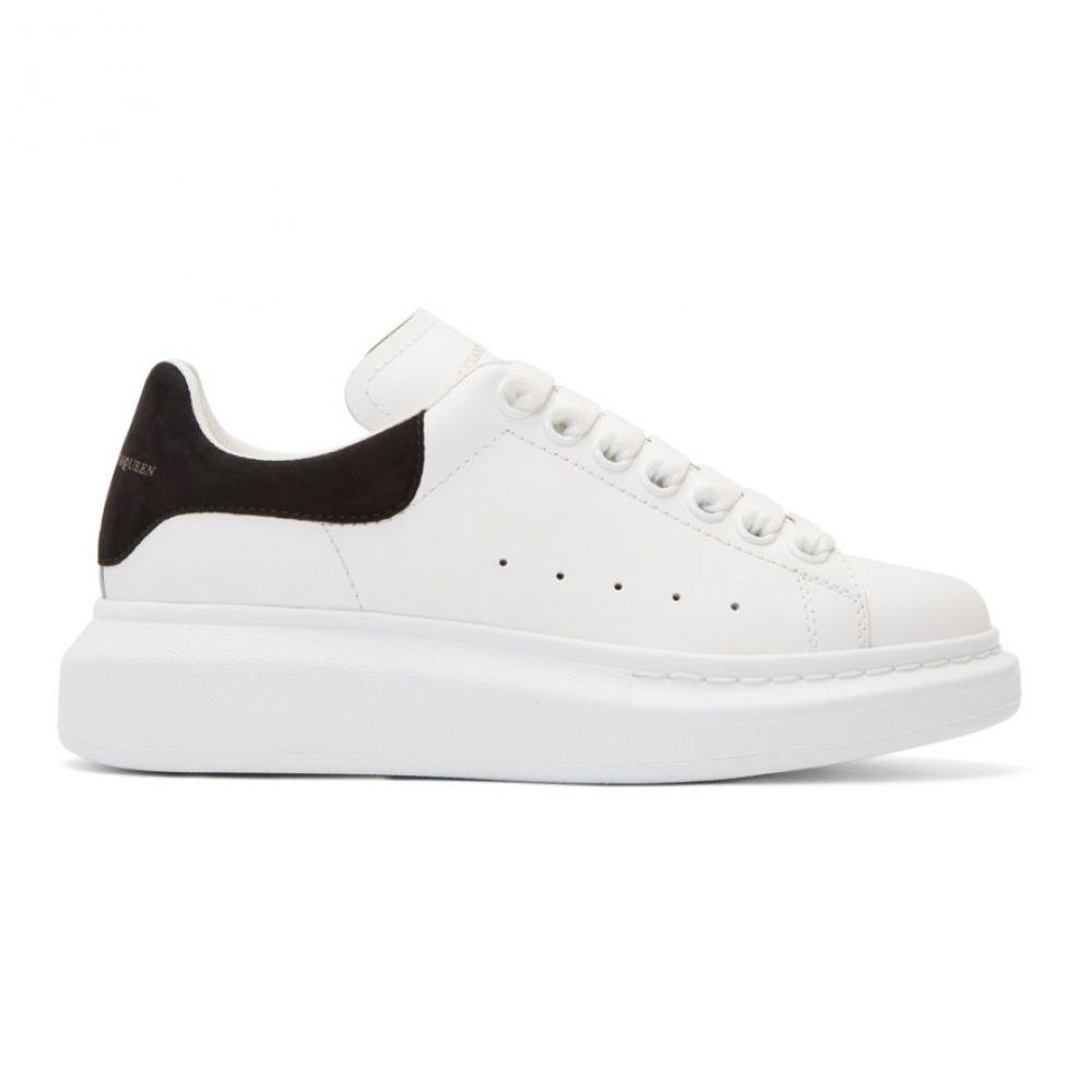 アレキサンダー マックイーン レディース シューズ・靴 スニーカー【White & Black Oversized Sneakers】